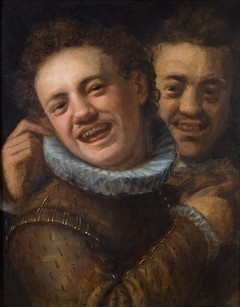 Two Laughing Men
