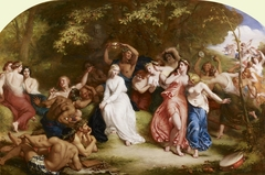 Una among the Fauns and Wood Nymphs