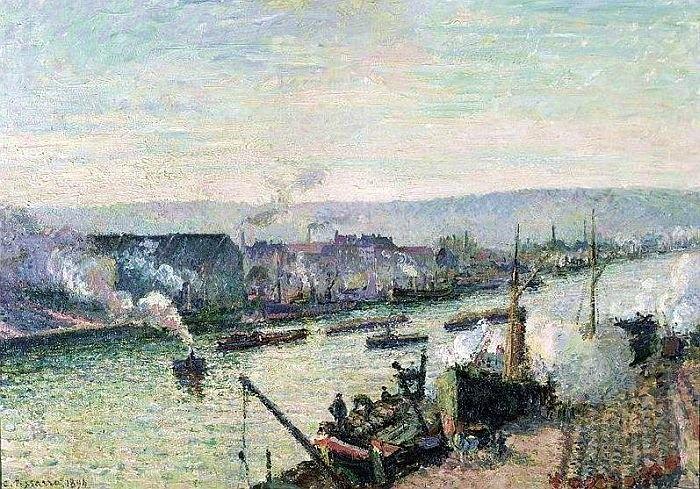 La Seine à Rouen, Saint-Sever 1122