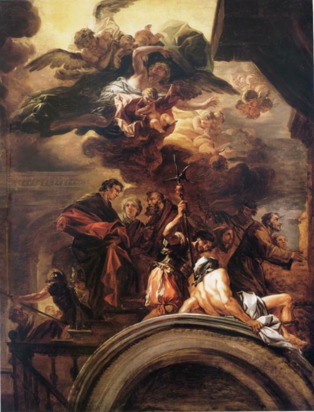 St. Francis before the Pope