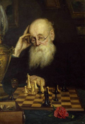 Chess with himself