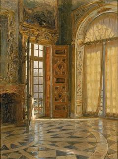 "Vestibule Corner ''Schleissheim,"" Prince Regent Luitpold's Palace"