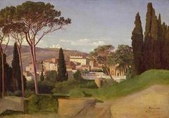 View of a Roman Villa