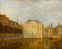 View of the Mauritshuis