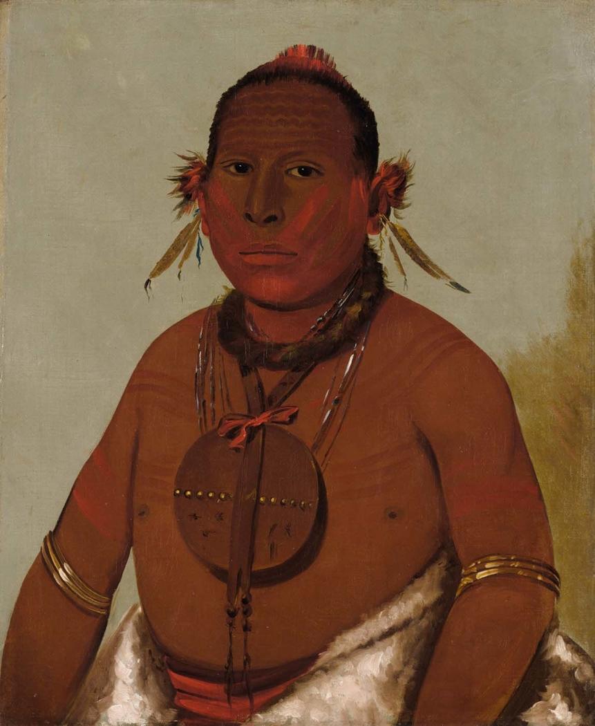 Wa-sáw-me-saw, Roaring Thunder, Youngest Son of Black Hawk
