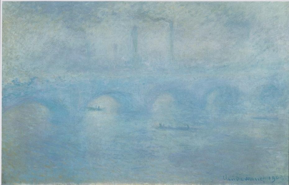 Waterloo Bridge. Effect of Fog