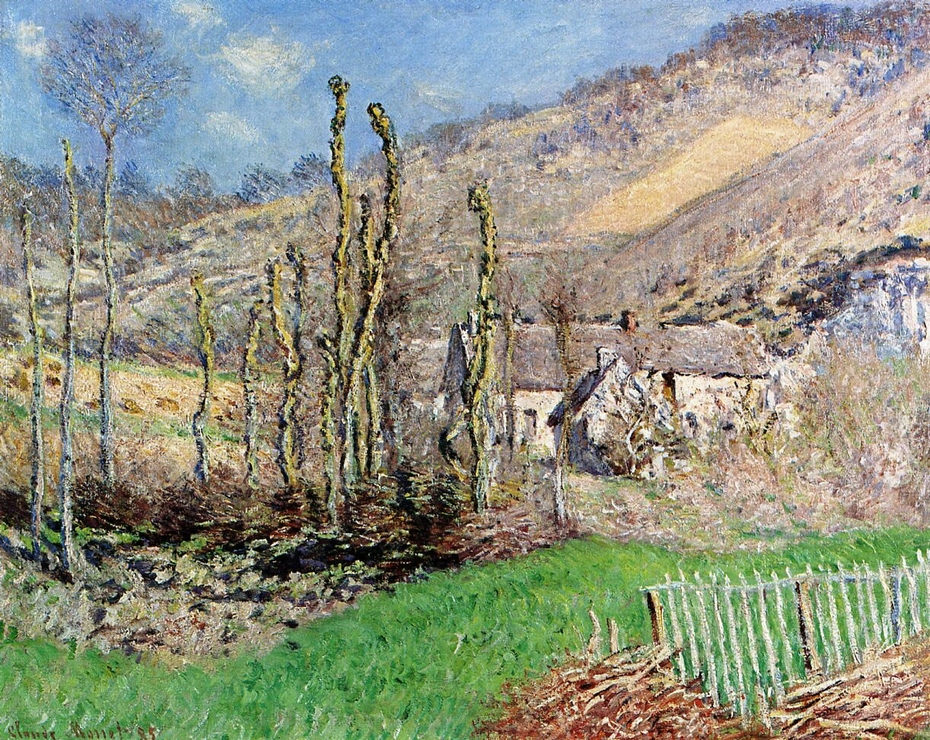 Winter Landscape at the Val de Falaise (Giverny)
