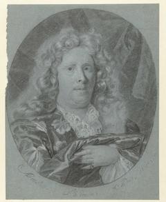 Zelfportret in ovaal