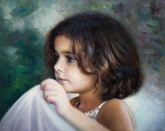 «Πορτρέτο κοριτσιού» ,  40 x 50 cm, oil on canvas.