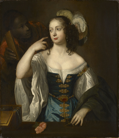 A Lady with a Black Servant