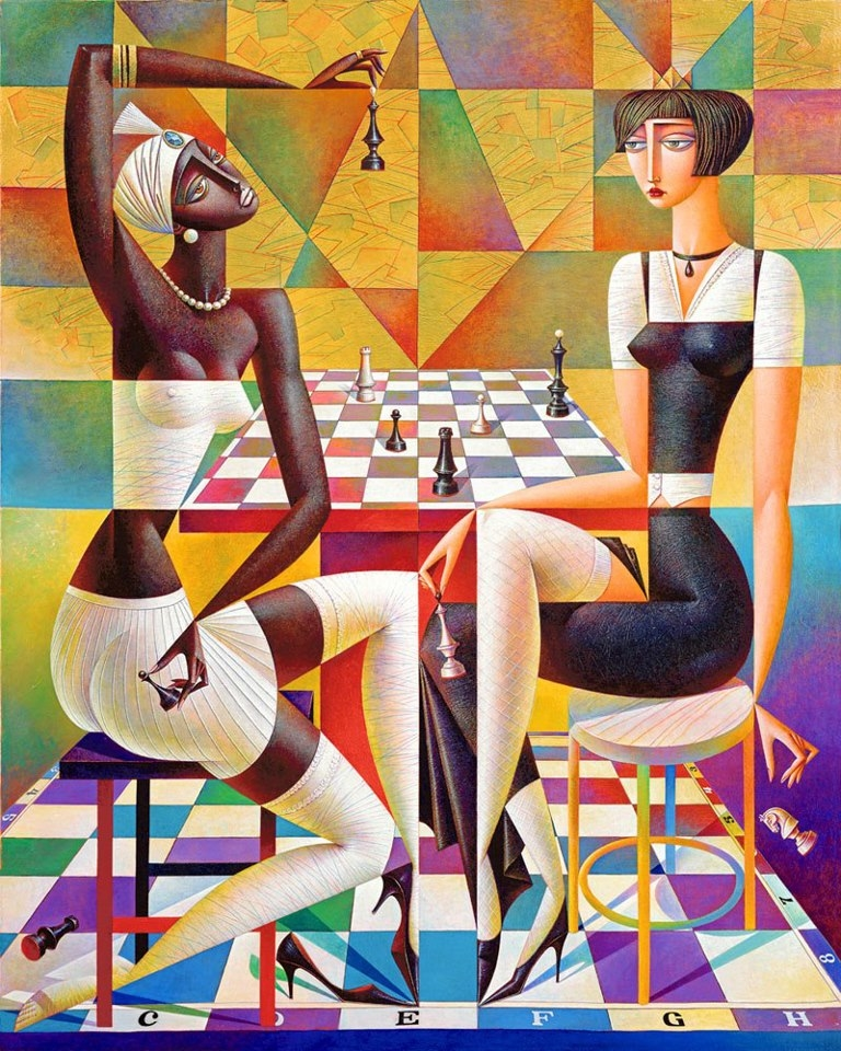 A Play In A Chess