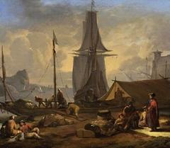 A Port Scene