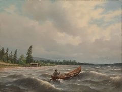 A Savo Boat on a Lake