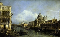 A View at the Entrance of the Grand Canal, Venice