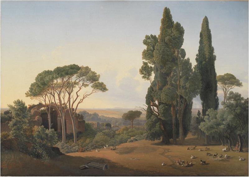 A View from Hadrian's Villa, Tivoli