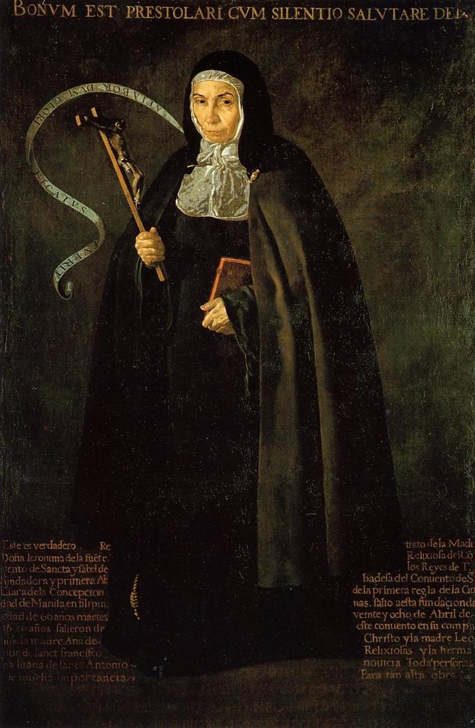 Abbess Jerónima de la Fuente