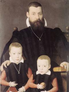 Adriaan van Santvoort and his Sons Guillaume and Adriaan
