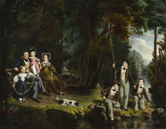 Alexander Masterton and His Wife and Children