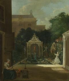 An Amsterdam Canal House Garden