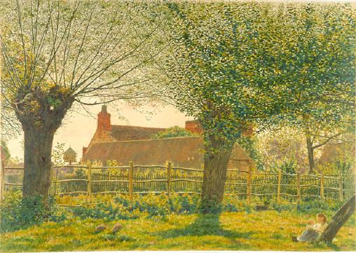 At Binsey, near Oxford