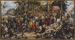 """Baptism of Lithuania, from the series """"History of Civilization in Poland"""""""