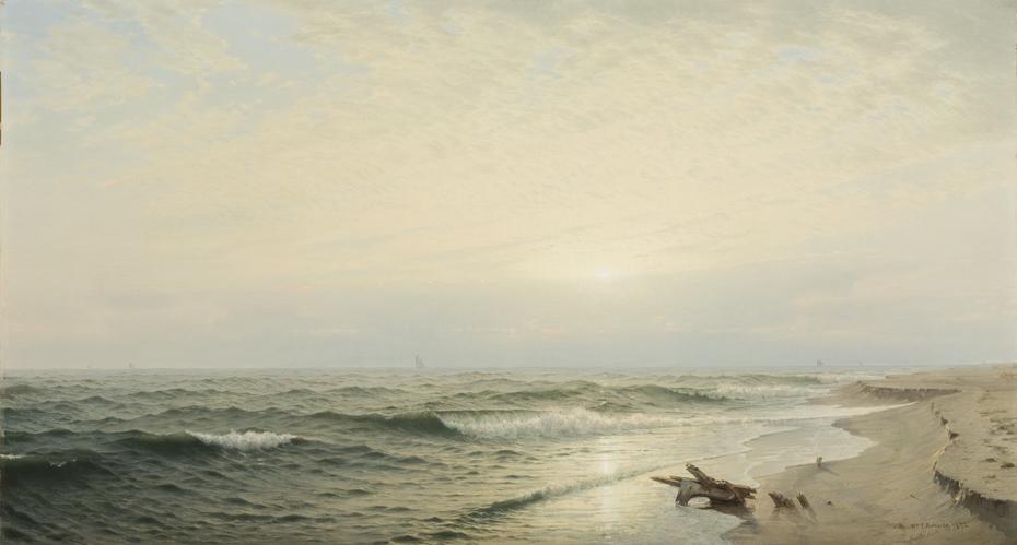 Beach at Long Branch: Sunrise