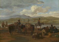 Bivouac of Cossacks