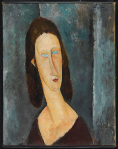 Blue Eyes (Portrait of Madame Jeanne Hébuterne)