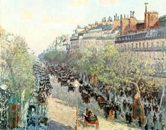 Boulevard Montmartre, Twilight