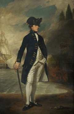 Captain later Admiral Sir Hyde Parker (1739-1807)