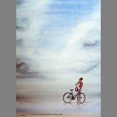 CHEMIN DE BALBEC #1 JEUNE FILLE AU TEINT DE COLEUS- Balbec way #1: the teen with a shade of coleus- by Pascal