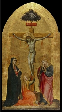 Christ Crucified, with the Virgin, the Magdalen, and Saint John
