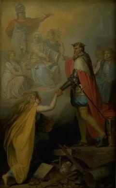 Christian III Succouring Denmark
