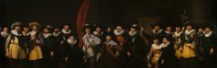 Civic guardsmen from the company of captain Jacob Symonszn de Vries and lieutenant Dirck Jacobszn de Graeff