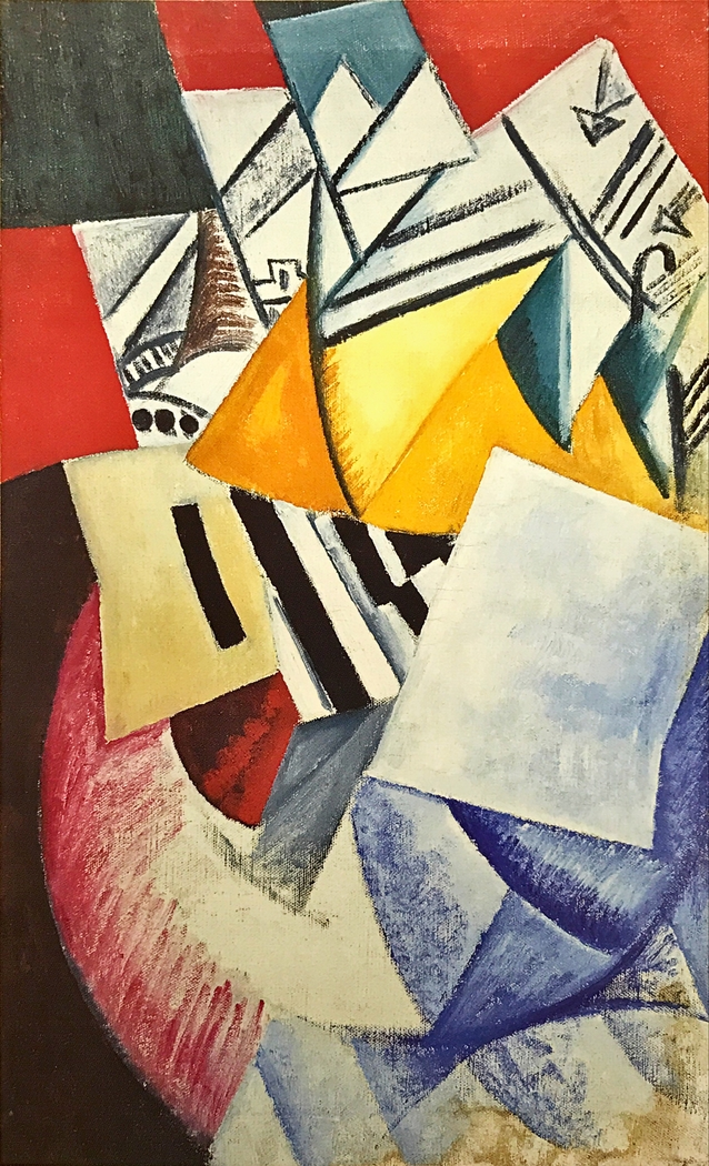 Composition with Cards