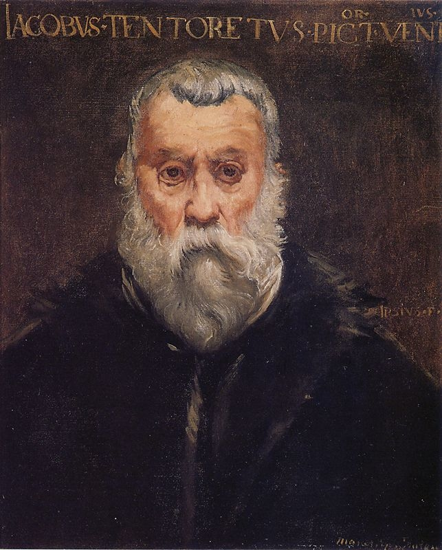 copie d'une tableau du Tintoret par Edouard Manet