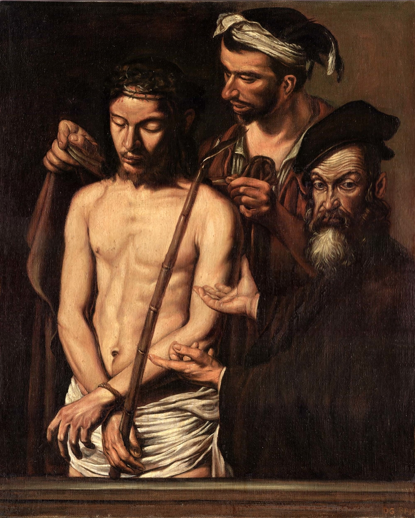"Copy from ""Ecce Homo"" by Caravaggio"