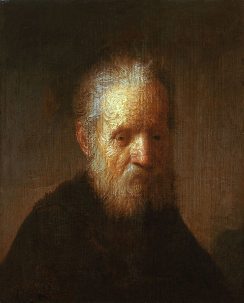 Copy of 'Bust of an Old Man'