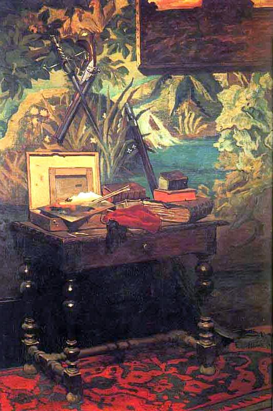 Corner of a Studio