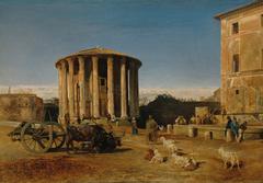 Der Vestatempel in Rom