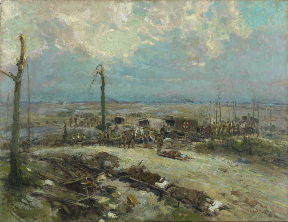 Dressing Station in the Field - Arras 1918