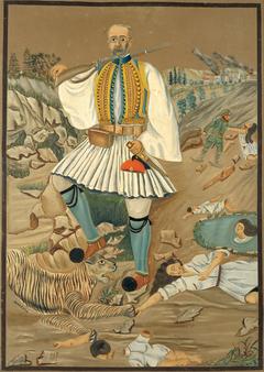 Eleftherios Venizelos Taming the Bulgarian Tiger