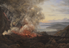 Eruption of the Volcano Vesuvius