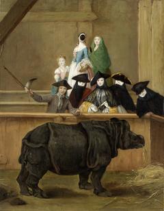 Exhibition of a Rhinoceros at Venice
