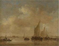 Fishing Boats in an Estuary