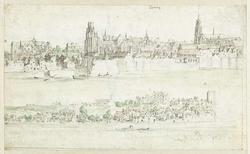 Gezicht op Blois