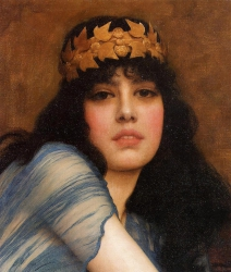 Head of a Girl (also known as The Priestess)