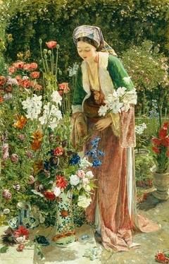 In the Bey's Garden
