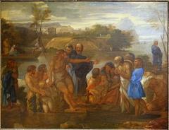 John the Baptist Preaching on the Sea of Tiberias