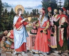 John the Evangelist blessing the poisoned Chalice